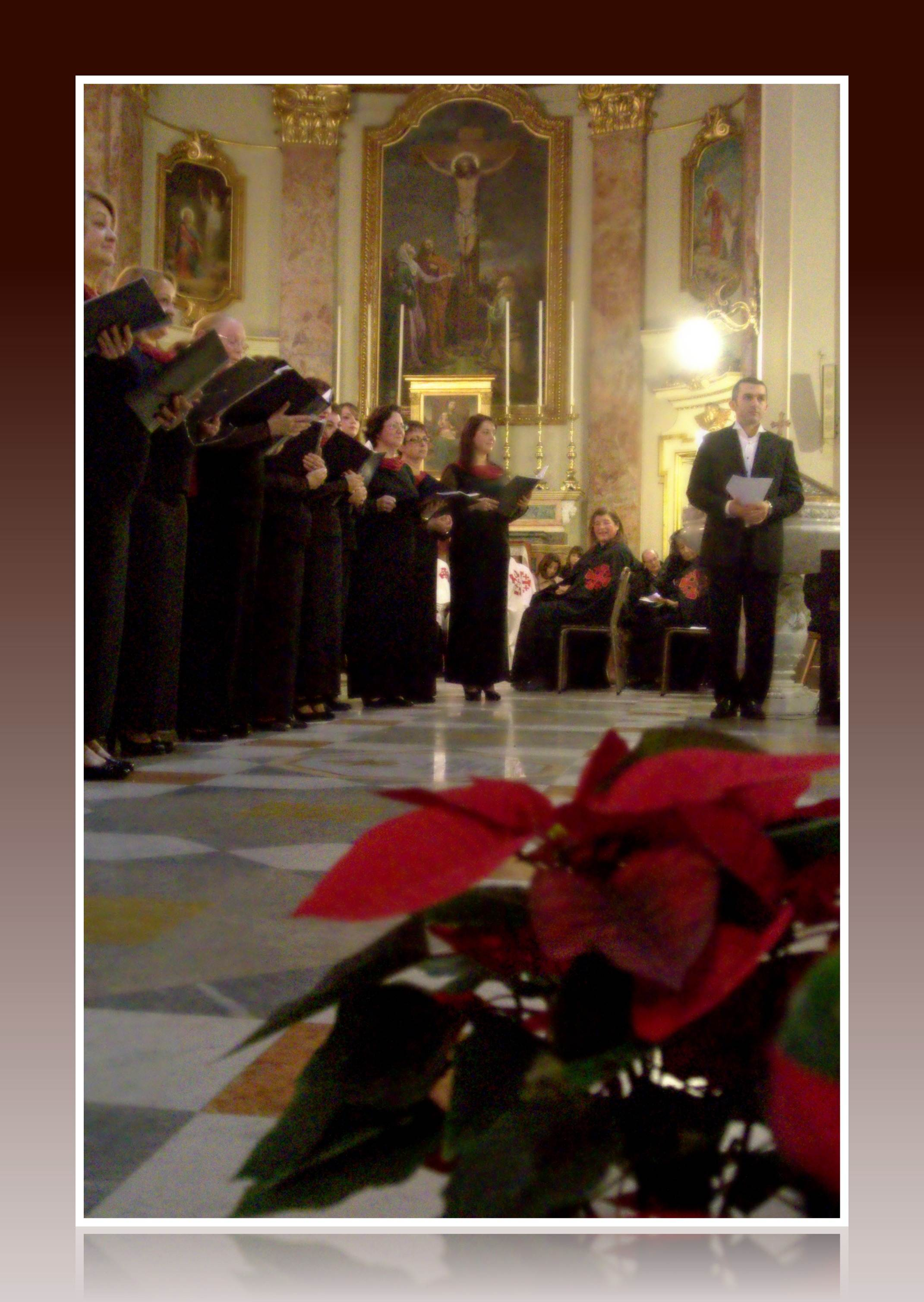 TNCS at Floriana Parish Church - 13 December 2013 - Photo by Claudine Despott