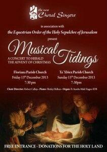 TNCS poster - Christmas 2013