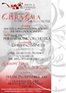 The New Choral Singers Opera Gala - 27 Sept 2013